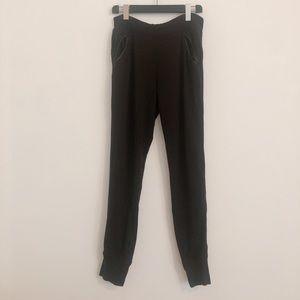 Alexander Wang black sweatpants XS PT